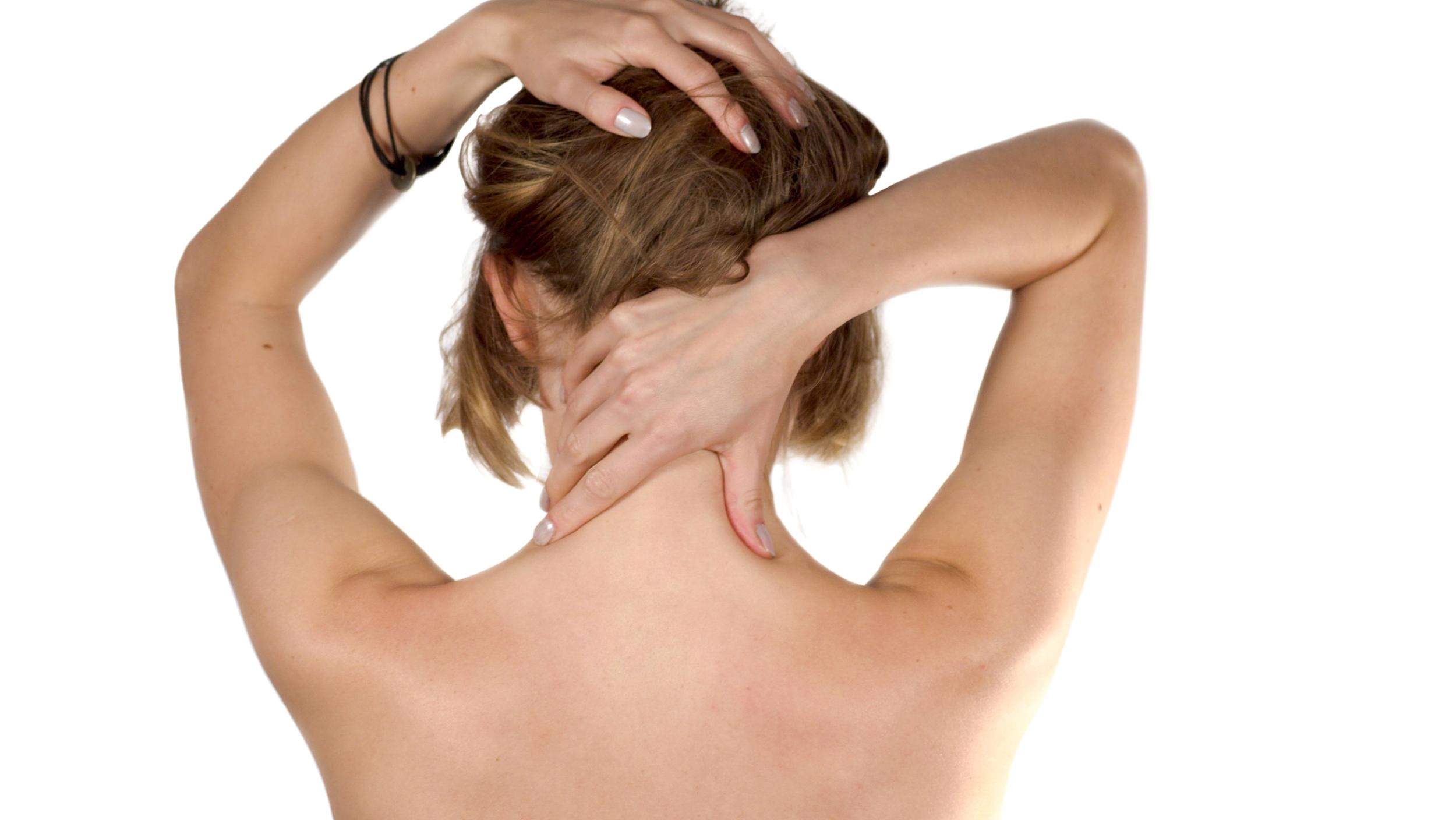 Как снять боль в шеи остеохондроз шейный
