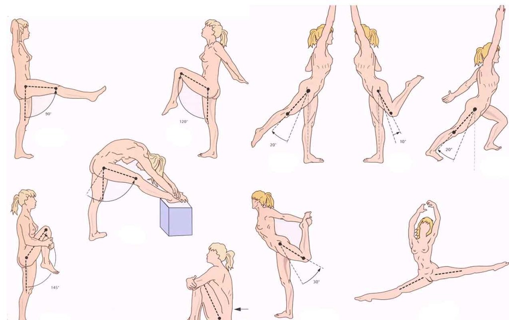 Зарядка при болях в тазобедренном суставе