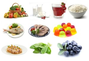 Nutrition and healthy foods for bundles
