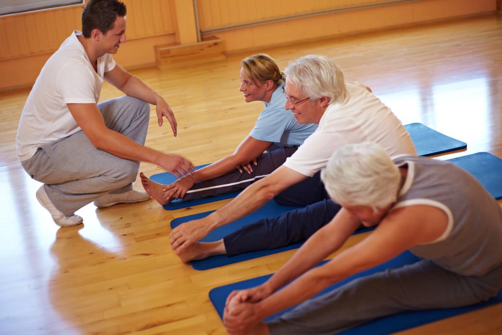 Лечебно физическая культура при заболевании остеохондроз